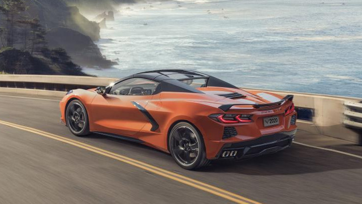 Chevrolet Corvette Cabriolet 2020 back2