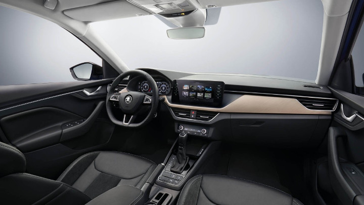 Skoda Scala 2018 interieur